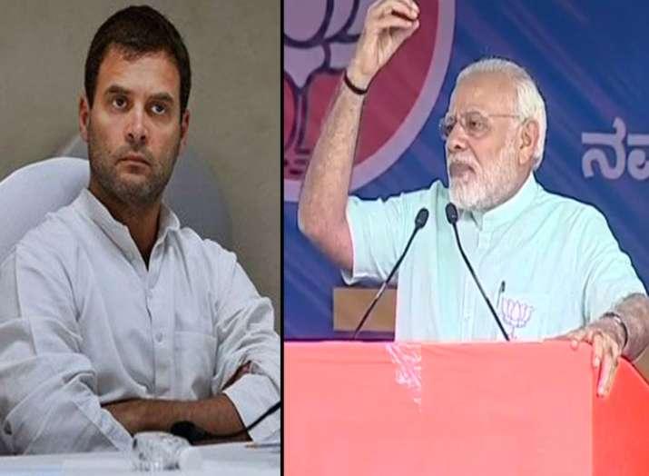 PM Modi challenged Rahul Gandhi to speak for 15 minutes