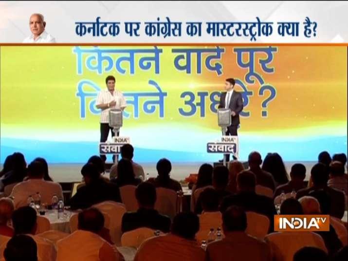 Raj Babbar at India TV Samvaad