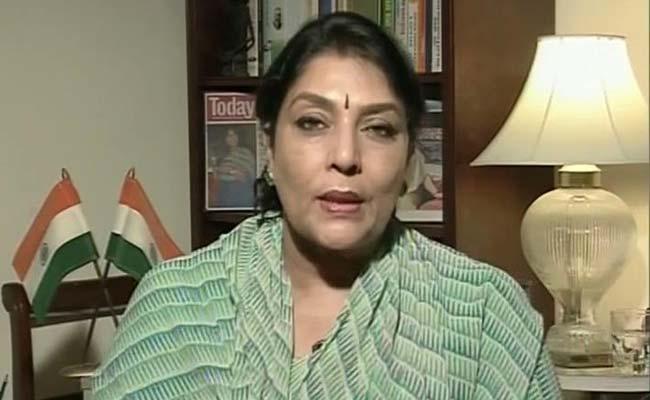 File photo of Congress spokespersonRenukaChowdhury.