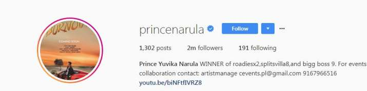 India Tv - Prince Narula