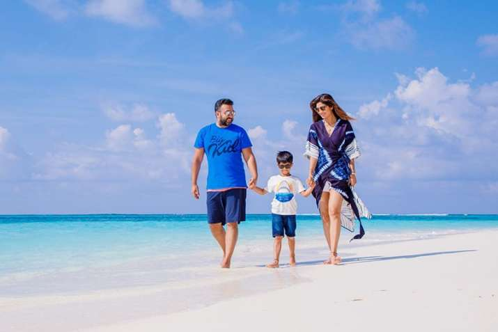 India Tv - Shilpa Shetty's family holiday