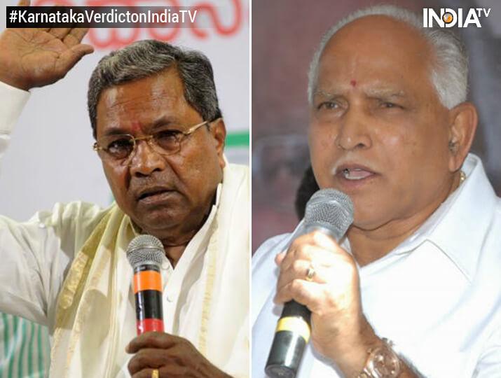Siddharamaiah stunned, Yeddyurappa wins from Shikaripura