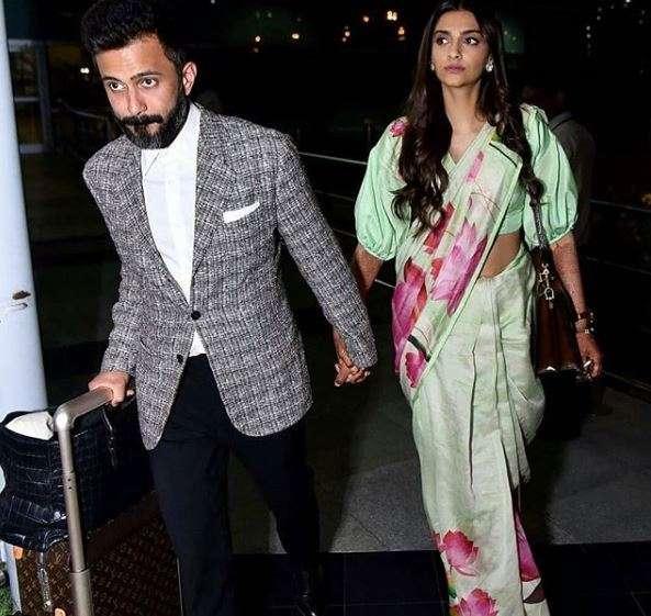 India Tv - Sonam Kapoor and Anand Ahuja