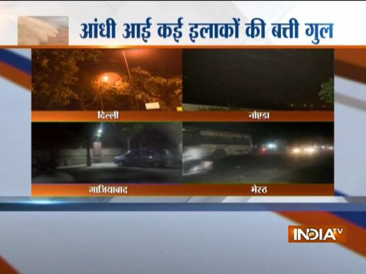 Thunderstorm Alert LIVE: Squall, heavy rains hit Delhi NCR