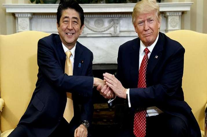 The US and Japanese leaders will meet ahead of a