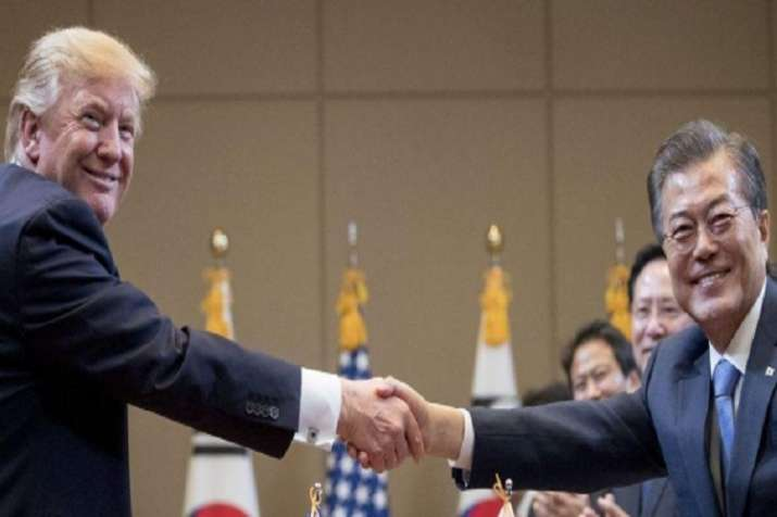 US President Donald Trump will host South Korean President