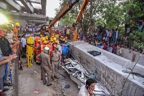 India Tv - Flyover collapse