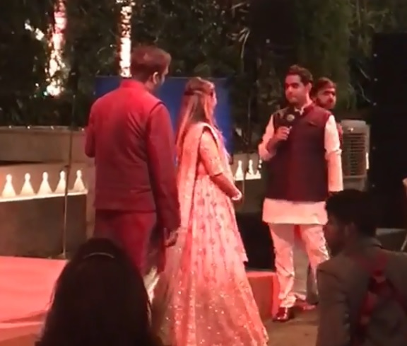 Video: Akash Ambani's emotional speech for sister Isha at her
