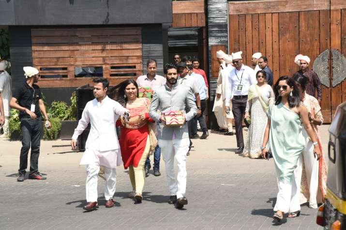 India Tv - Sonam Kapoor, Anand Ahuja'spost-weddingpictures