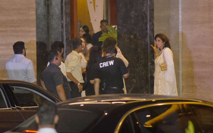 India Tv - Celebs leaving venue post Sonam Kapoor's mehendi ceremony