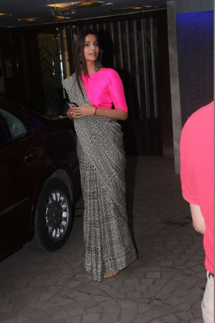 India Tv - Sonam Kapoor, Anand Ahuja spotted together