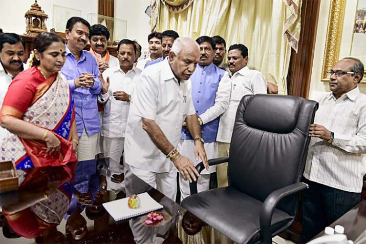 India Tv - Will B S Yeddyurappa be able to prove majotity in Karnataka Assembly? Floor test to decide at 4 pm today