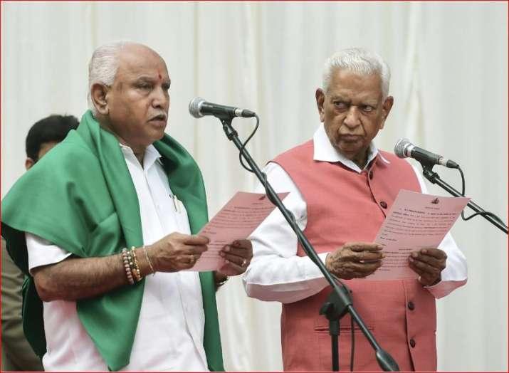 Karnataka Governor Vajubhai Vala administers oath to