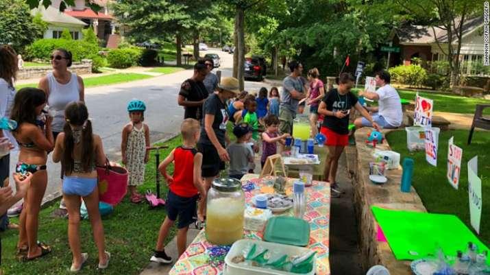 India Tv - Atlanta kid raises ,000 by a lemonade stand
