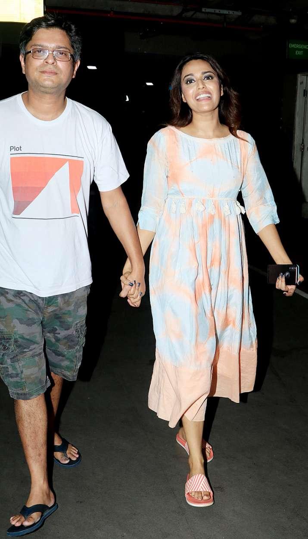 India Tv - Swara Bhasker with boyfriend