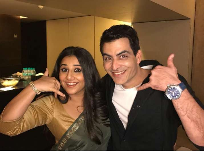 India Tv - Vidya Balan and Manav Kaul