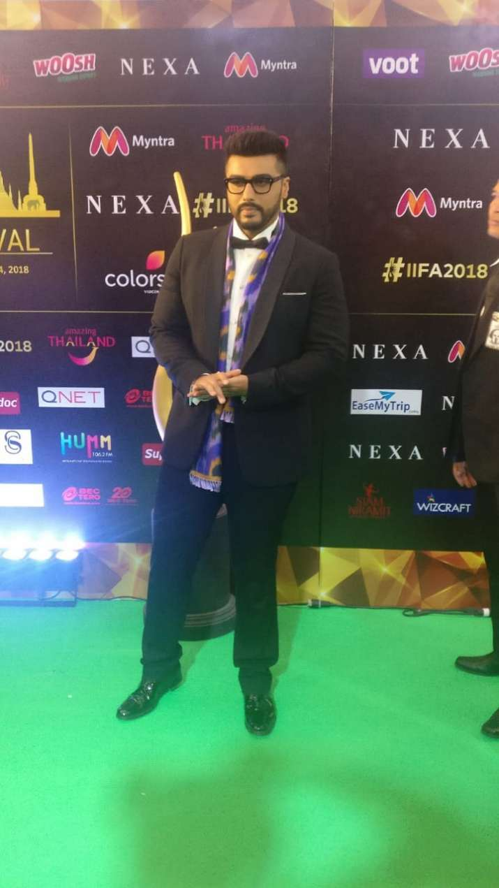 India Tv - Arjun Kapoor at IIFA
