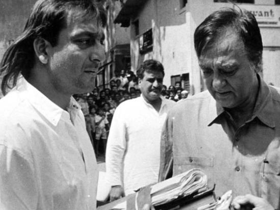 This is how Sanjay Dutt remembered dad Sunil Dutt on