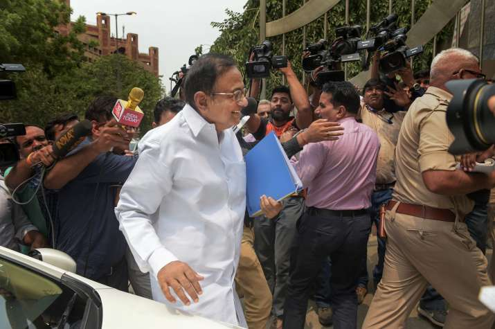 Congress leader P. Chidambaram appears before ED for second