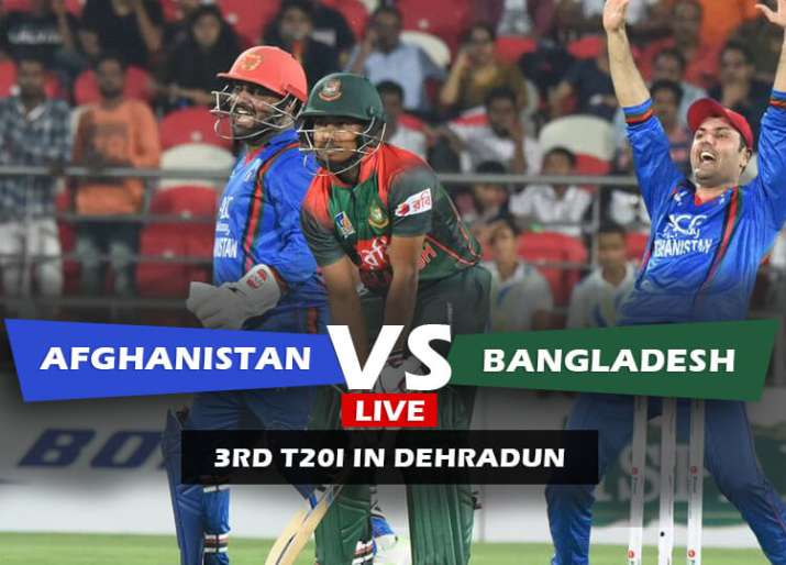 Afg Vs Ban 3rd T20i How To Watch Afghanistan Vs Bangladesh