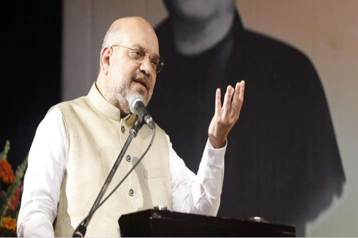 Amit Shah during the 1st Bankim Chandra Chattopadhyay