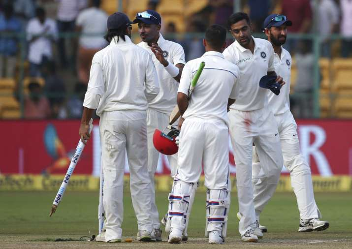 india vs afghanistan test match highlights
