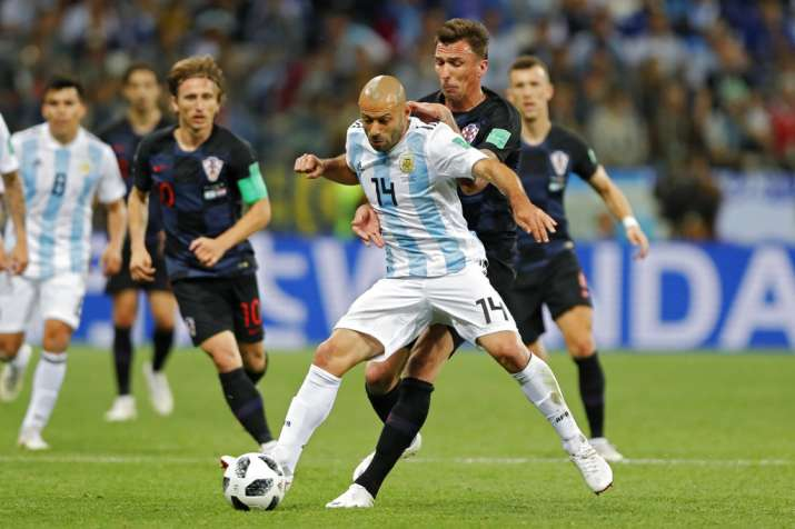 India Tv - Javier Mascherano has been more on the defensive side than being placed at midfield