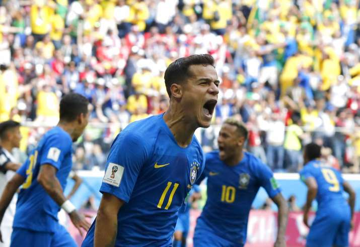 India Tv - Coutinho's goal gave Brazil the lead in stoppage time