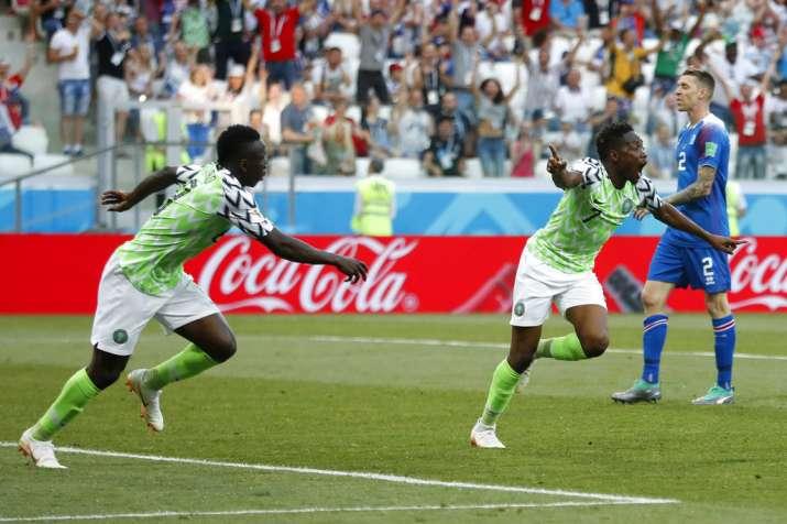 India Tv - Nigeria beat Iceland 2-0.