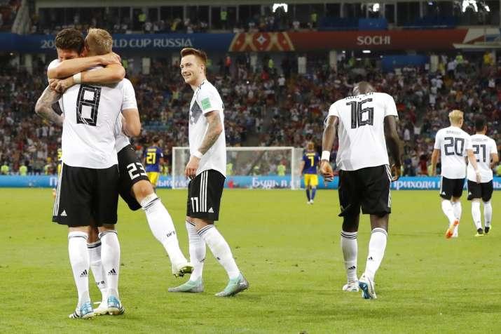 India Tv - Germany will next face Korea Republic
