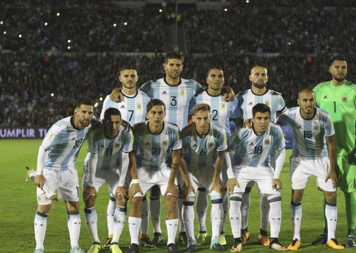 Argentina stepped up their World Cup preparations with a 4-0 victory over  108th-ranked Haiti on Tuesday thanks to a hat-trick from Messi. e6c43d3fe