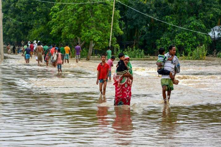 Flood in North-East India