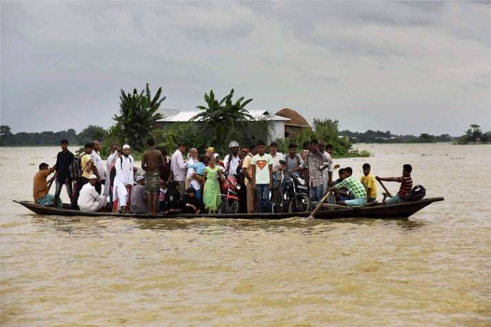 The overall flood situation in Assam improved further on