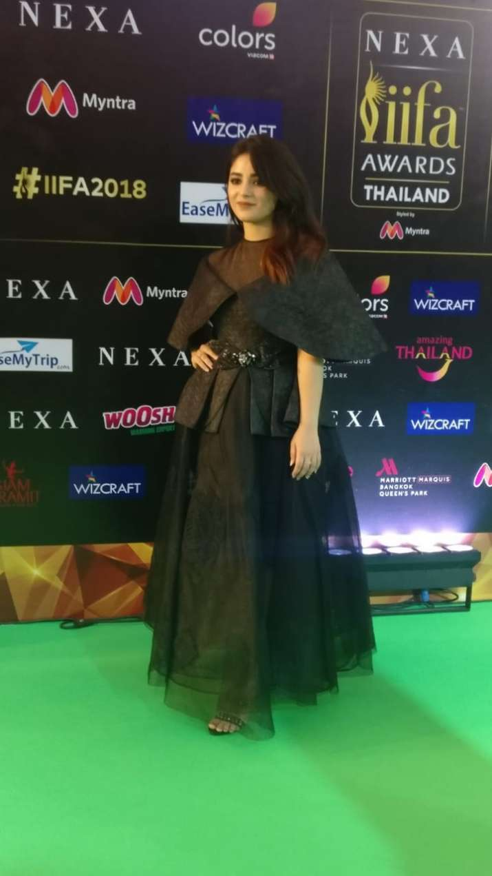 India Tv - Zaira Wasim at IIFA