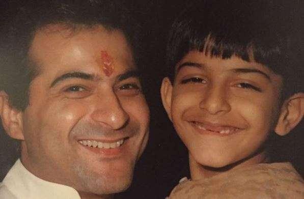 Sanjay Kapoor and mini 'Bhavesh Joshi