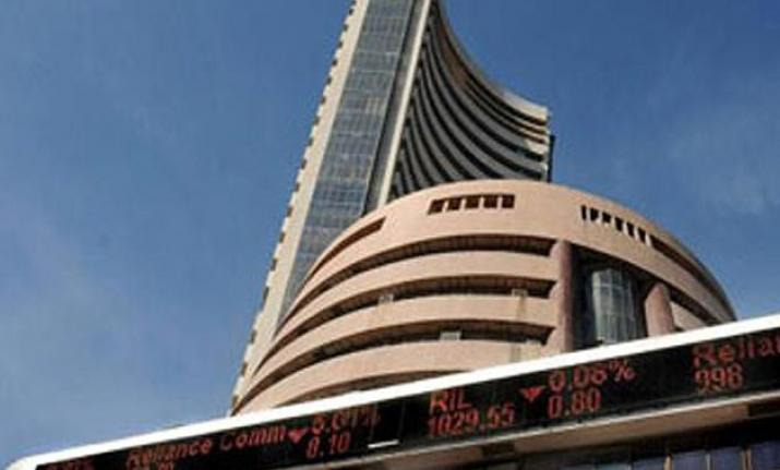 Sensex ended with modest gains on Friday