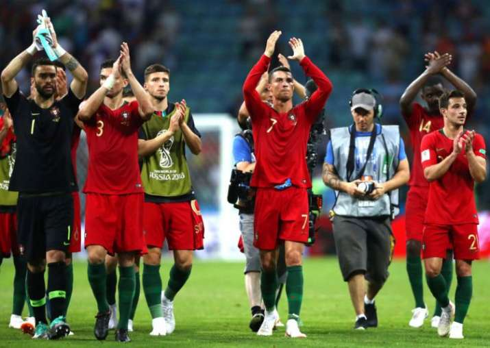 c0f6109c9 FIFA World Cup 2018  Cristiano Ronaldo scores hat-trick as Portugal ...