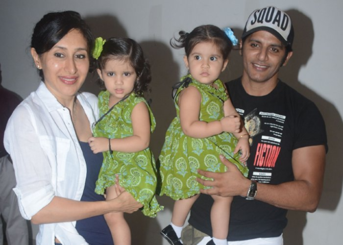 India Tv - Kashmera Shah And Krushna Abhishek's twins' first-year birthday bash