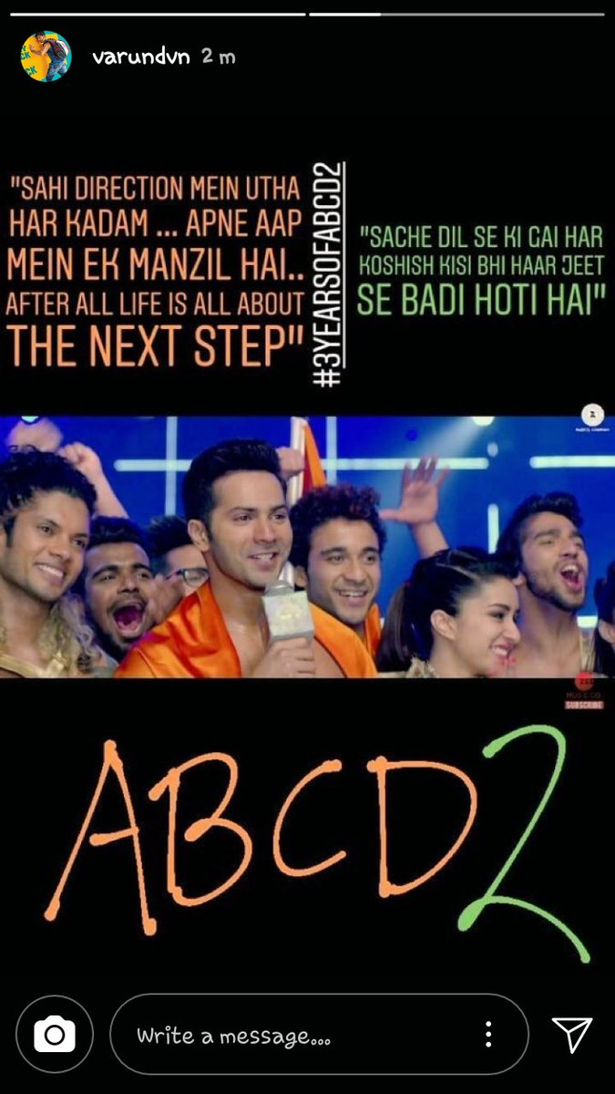 India Tv - 3 years of  Varun Dhawan and Shraddha Kapoor starrer ABCD2
