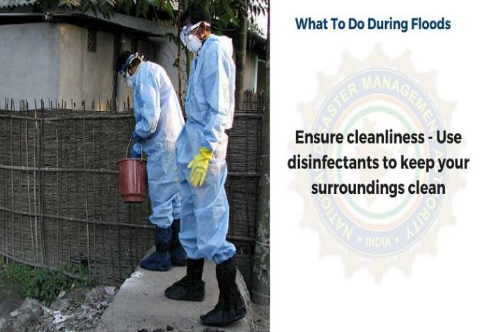 India Tv - Use disinfectants to keep your surroundings clean