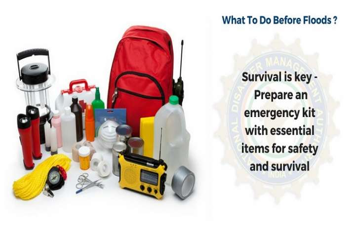 India Tv - Prepare a kit with all necessary items for safety and survival during emergency