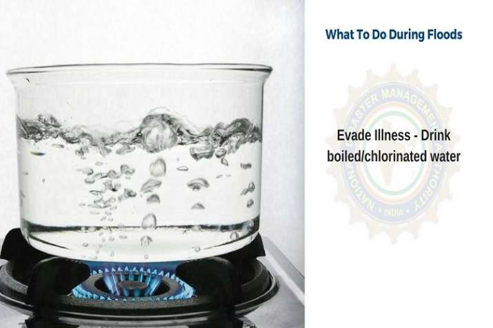 India Tv - Boil water before drinking to avoid illness