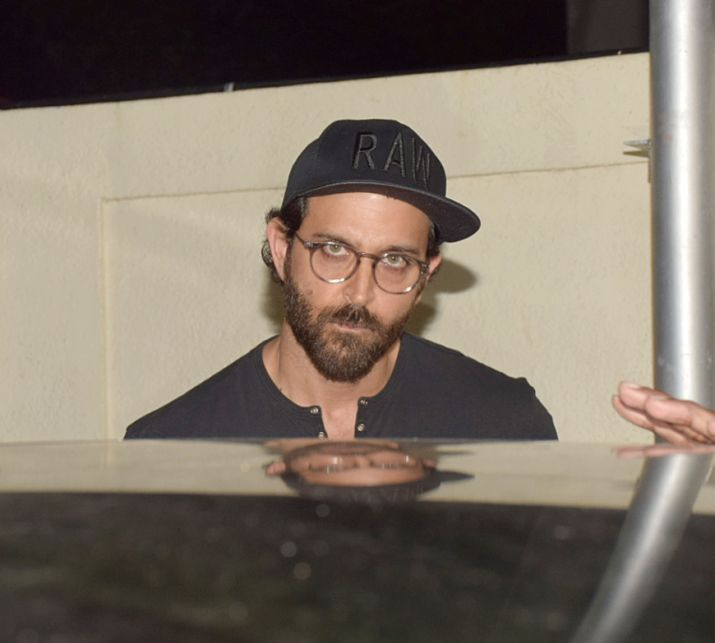 India Tv - Hrithik Roshan at a family dinner