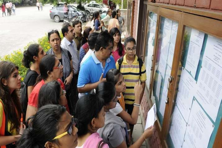 The cut-off for general category candidates for BCom