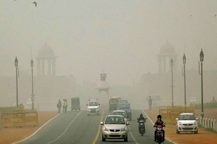 Dust-laden winds have created haze in Delhi-NCR since
