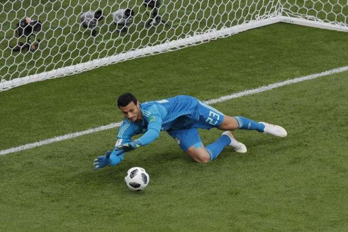 39be5ff09a8 FIFA World Cup 2018  Egypt goalkeeper declines Budweiser-sponsored ...