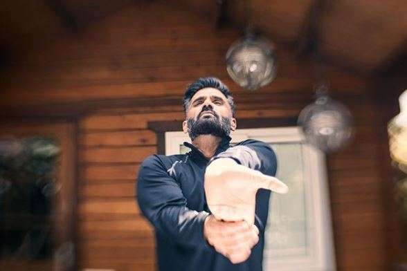 Suniel Shetty is part of Mission Fit India