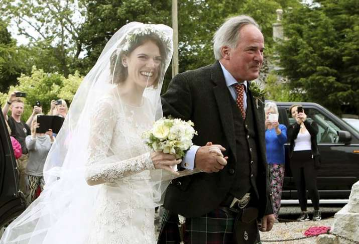 India Tv -  Kit Harington and Rose Leslie wedding