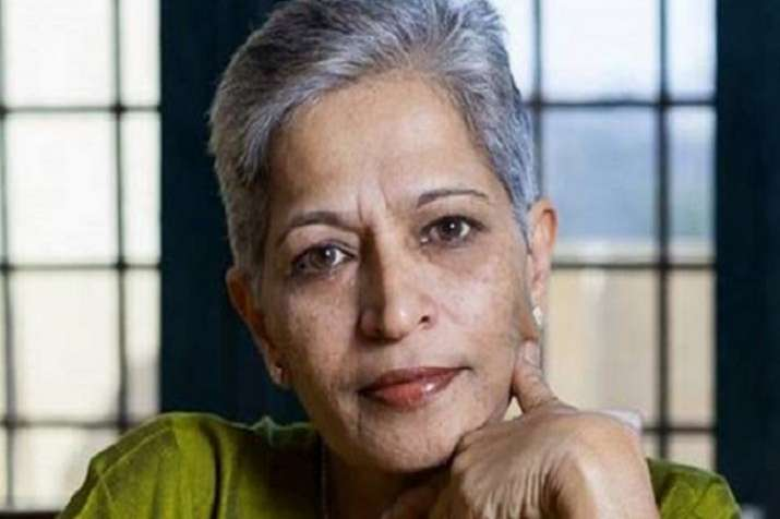 Gauri Lankesh was shot to death by unidentified men at her