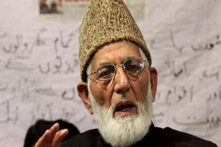 The youth also accused Hurriyat's Syed Ali Shah Geelani of